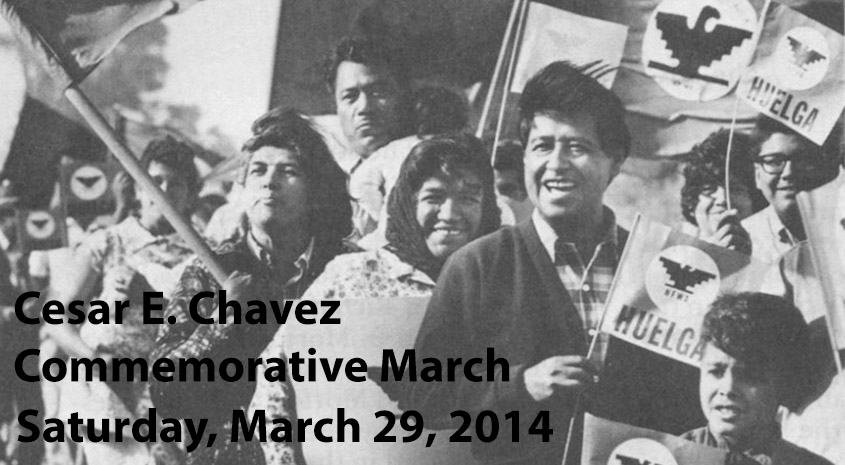 Cesar E. Chavez Commemorative March